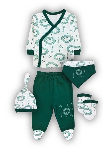 By Leyal For Kids 5 Li Aslan Detaylı Set-4444 Yeşil